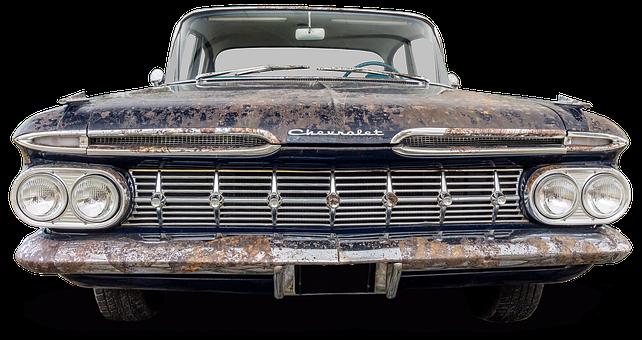 Chevrolet, Oldtimer, Rusted, Old