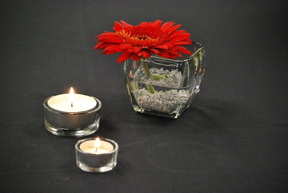Virág Vörös Gyertya - Ingyenes fotó a Pixabay-en