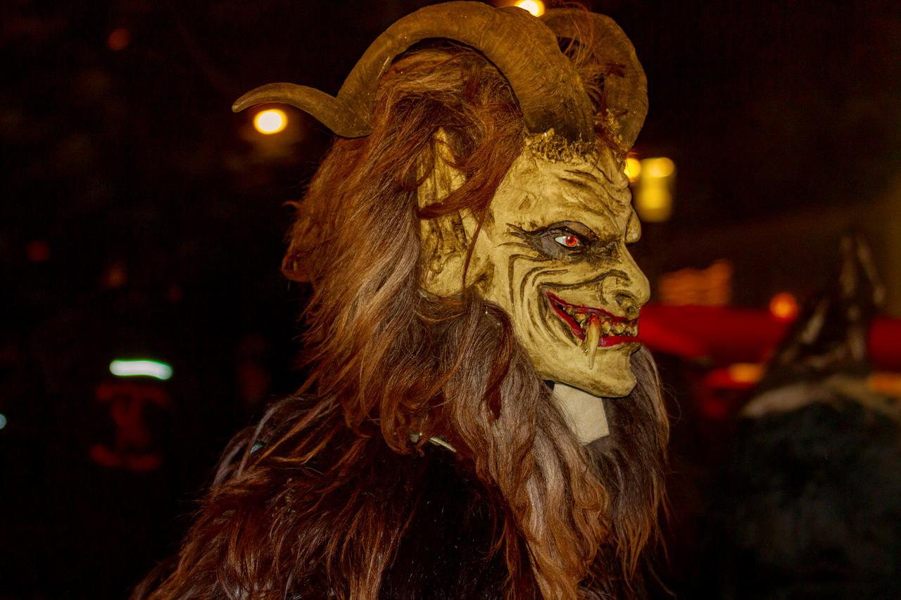 krampus has been scaring people during christmas for years