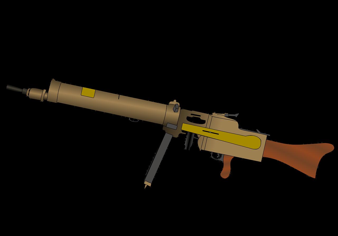 Mg 08 15 Machine Gun - Free image on Pixabay