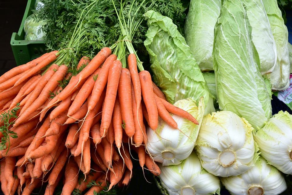 Gemuse Karotten Kohl Kostenloses Foto Auf Pixabay