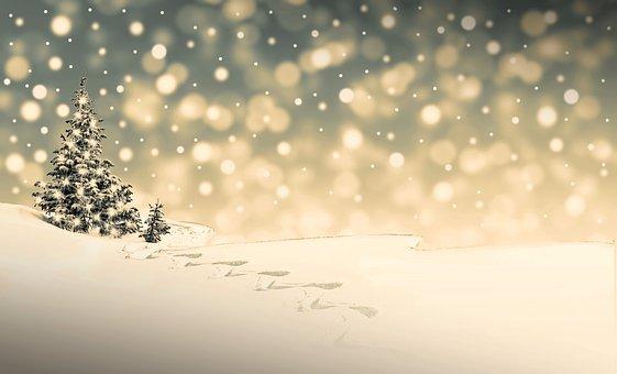 Christmas, Snow, Winter, Christmas Time