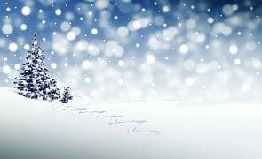Christmas, Snow, Winter
