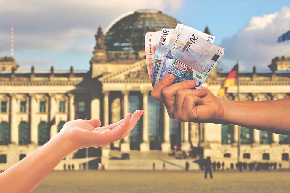 Geld, Euro, Financiën, Valuta, Rijkdom, Dollar Bill