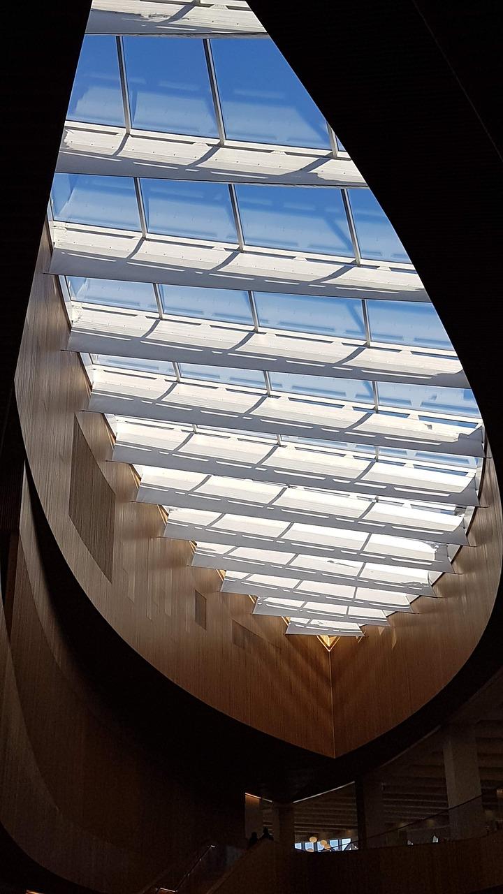 Skylight Modern Architecture Free Photo On Pixabay