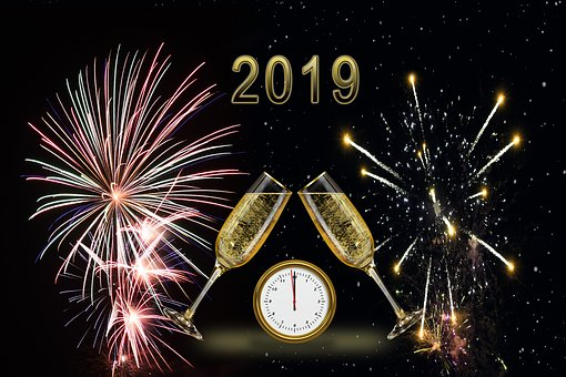 New Year'S Eve, New Year'S Day, 2019