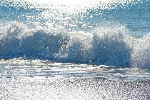 Wave, Water, Marine, Ocean, Waters, Jump