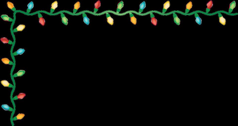 Christmas Light Border.Graphic Christmas Light Border Free Vector Graphic On Pixabay