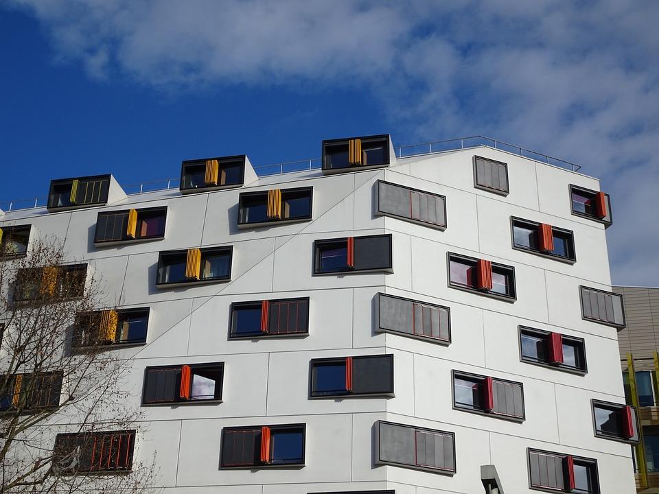 Architektur, Moderne Architektur, Wohnhaus, Fassade