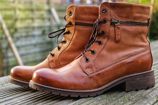 Winter Boots, Shoes, Leather Boots
