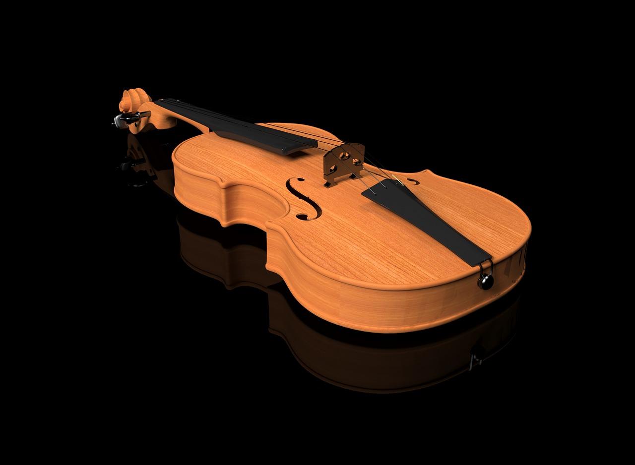 усиливает картинка скрипка на черном фоне название