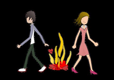Breakup, Divorce, Separation, Couple