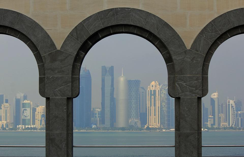 Doha, City, Skyline