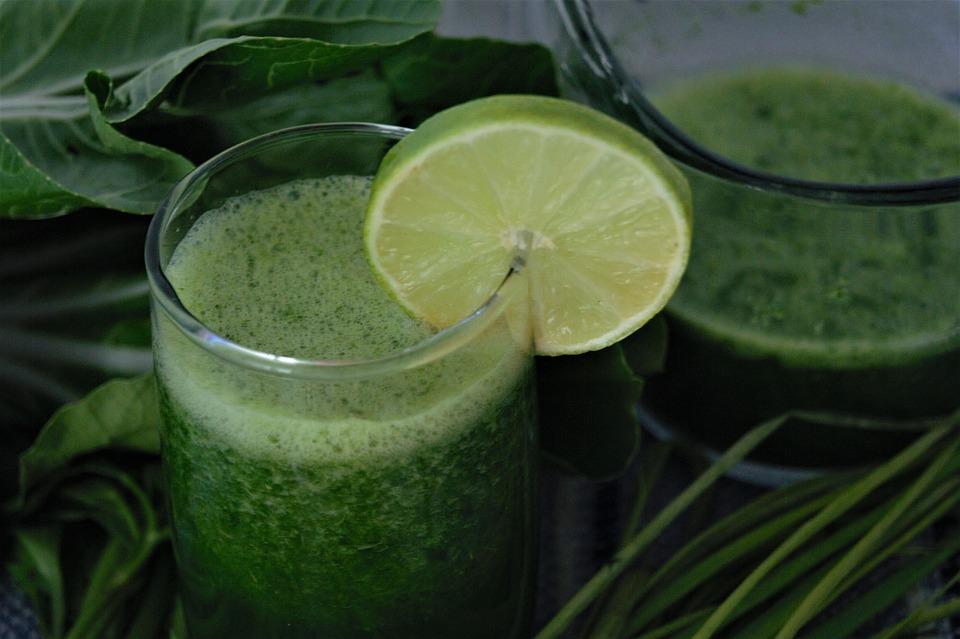 Verde Succhi Di Frutta, Succo Di Disintossicazione