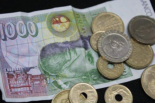 外国の紙幣とコイン