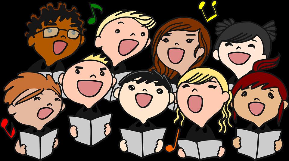 Chorale, Chant, Enfants, Choeur, Chanteur, Chanter