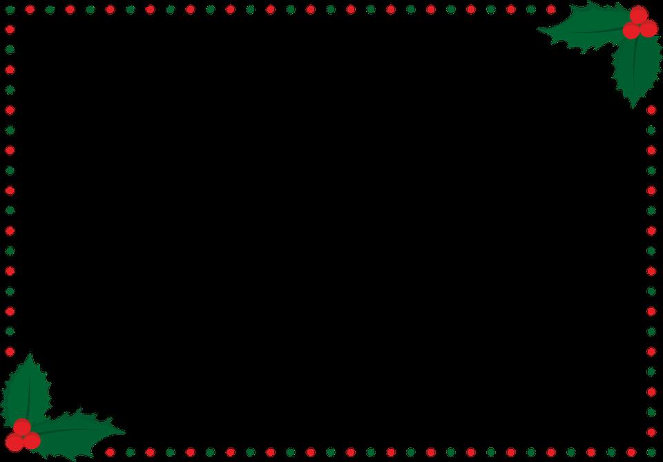 Christmas Frame.Christmas Frame Border Free Vector Graphic On Pixabay