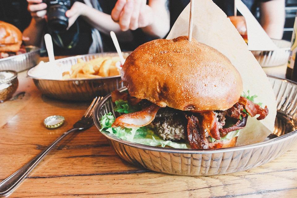 Burger, Gourmet, Hamburger, Food, Meal, Sandwich, Meat