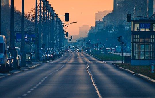 City, Road, Vehicles, Cityscape, Asphalt