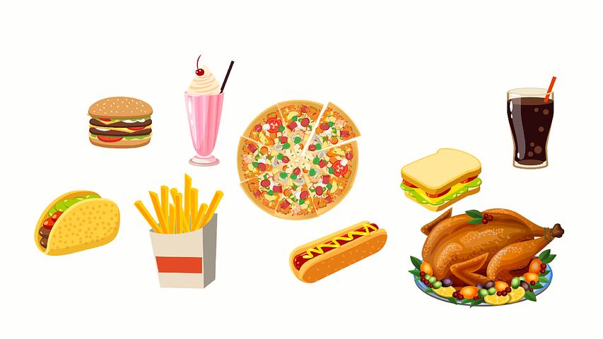 Картинка вредные продукты для детей