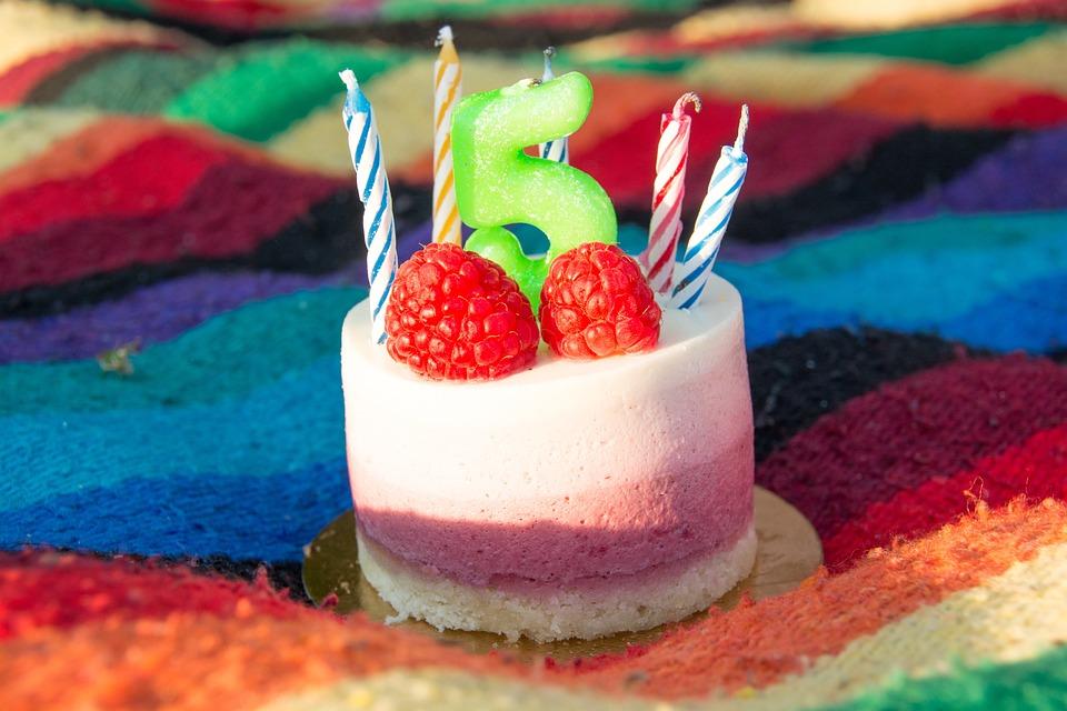 Kuchen 5 Geburtstag Kerzen Kostenloses Foto Auf Pixabay