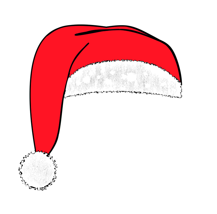 Free Santa Hat Image, Download Free Clip Art, Free Clip Art on Clipart  Library