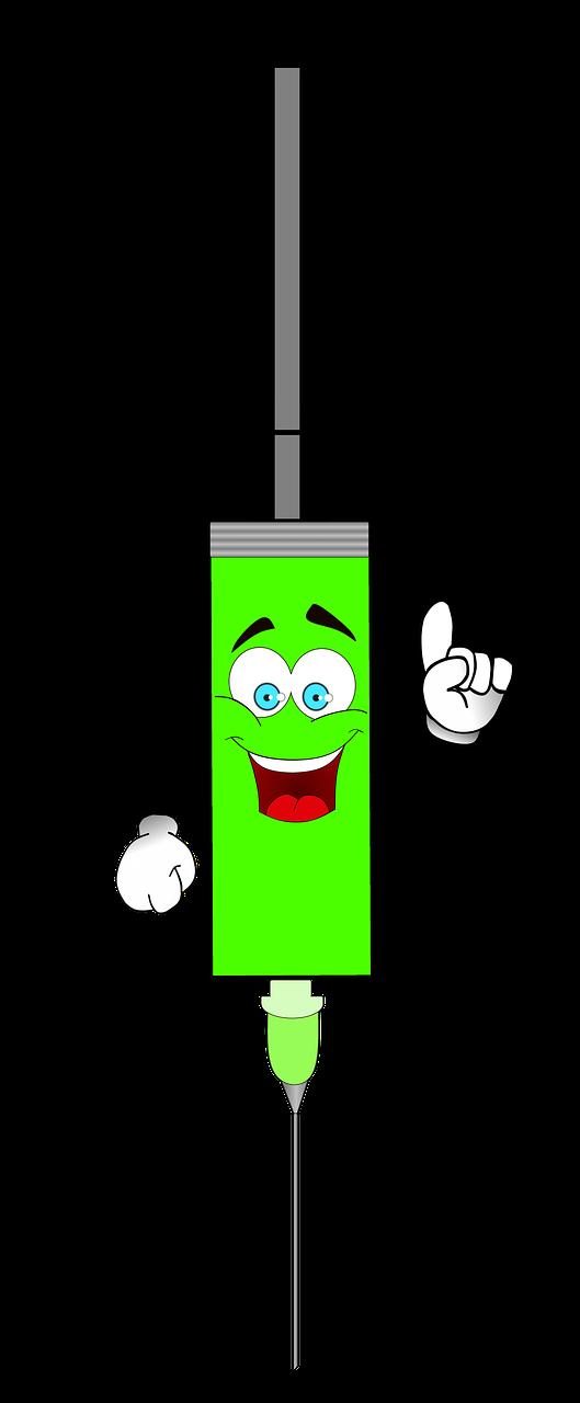 Spritze Clipart Impfung Kostenloses Bild Auf Pixabay