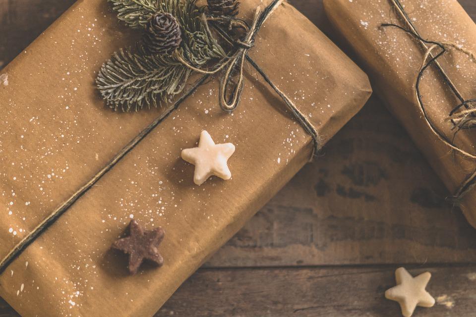 12 月, クリスマス, お祝い, バック グラウンド, プレゼント, 装飾, 冬, クッキー, 壁紙
