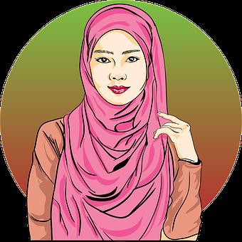 Hijab, Muslim, Women, Design