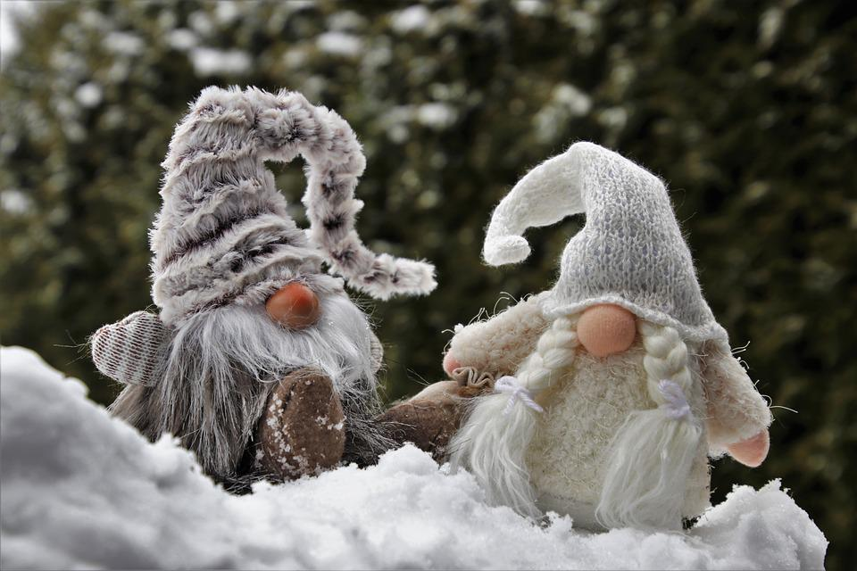 Imp, Пункт, Вместе, Гномы, Зима, Снег, Декабря