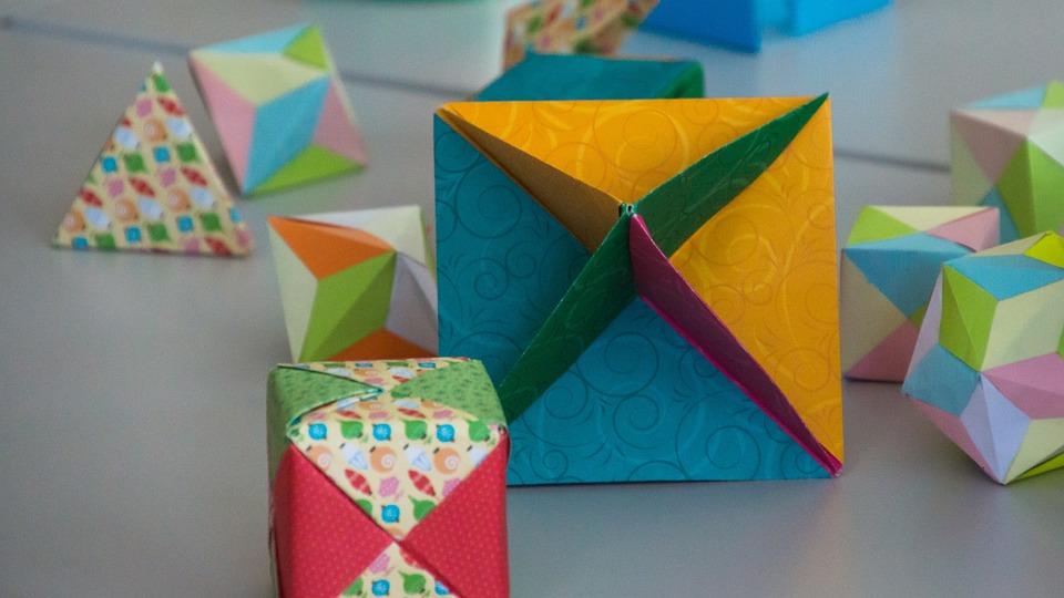 Math, Shapes, Geometry, Cube, Shape, Pattern, Paper