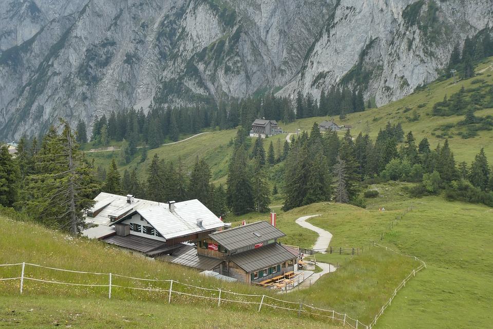 De Dachstein-Krippenstein, Salzkammergut, Austria
