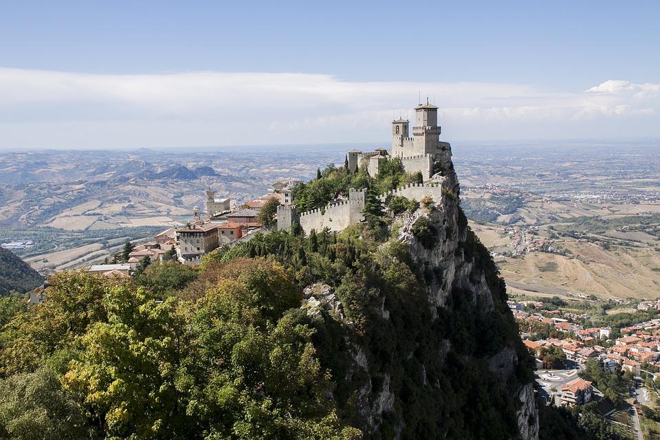 Zamek San Marino, Castle Of San Marino Były, Krajobraz