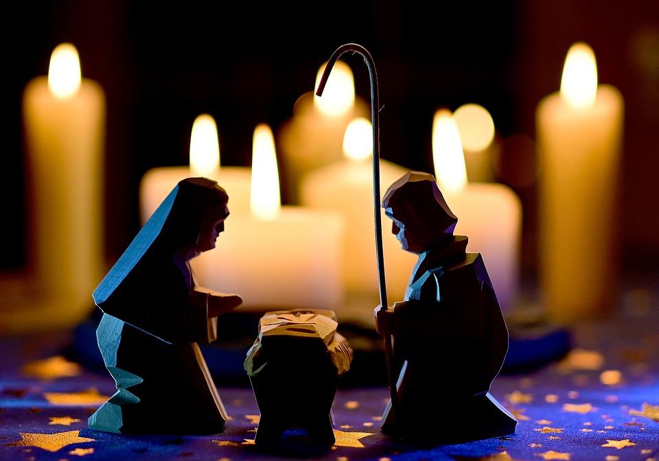 Imagenes Sagrada Familia Navidad.Navidad Sagrada Familia Escena De Foto Gratis En Pixabay