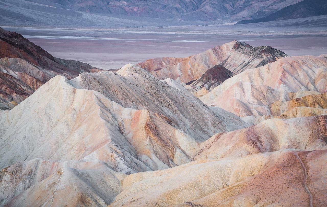 Terrestre cosmogenic-nuclide datazione di tifosi alluvionali in Death Valley California