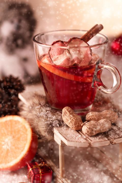 Mulled Claret, Christmas, Advent, Hot Drink, Alcoholic