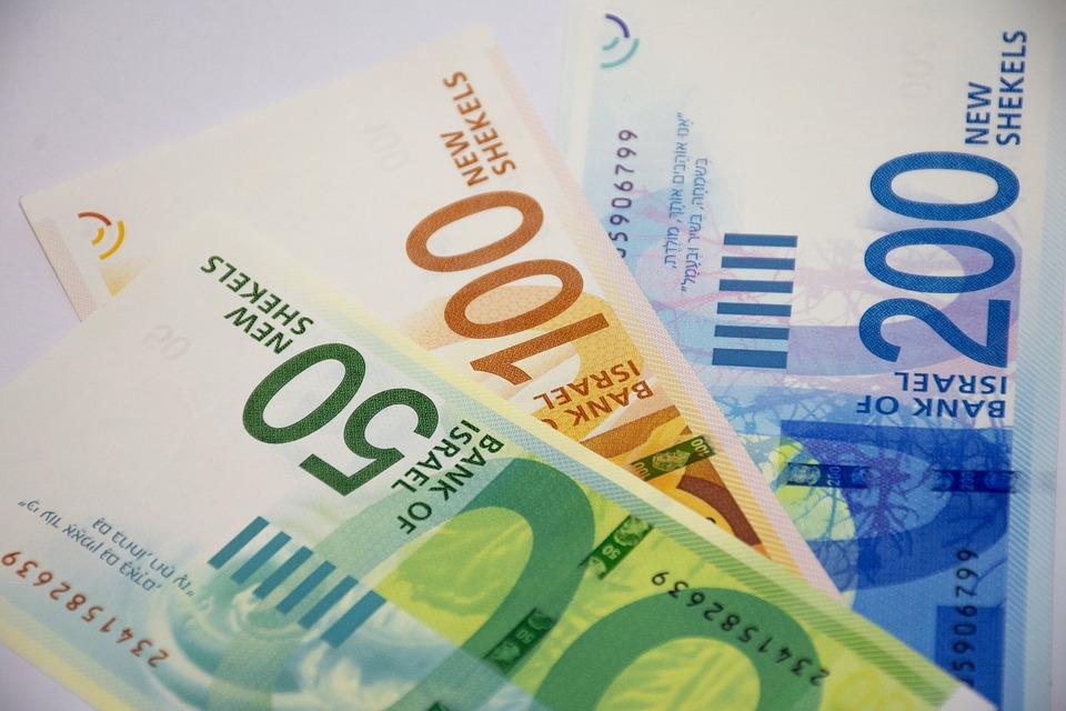 Israel, Nis, Shekel, Money, Background, Financial