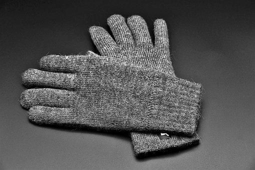 Gloves, Wool, Warm, Winter, Finger