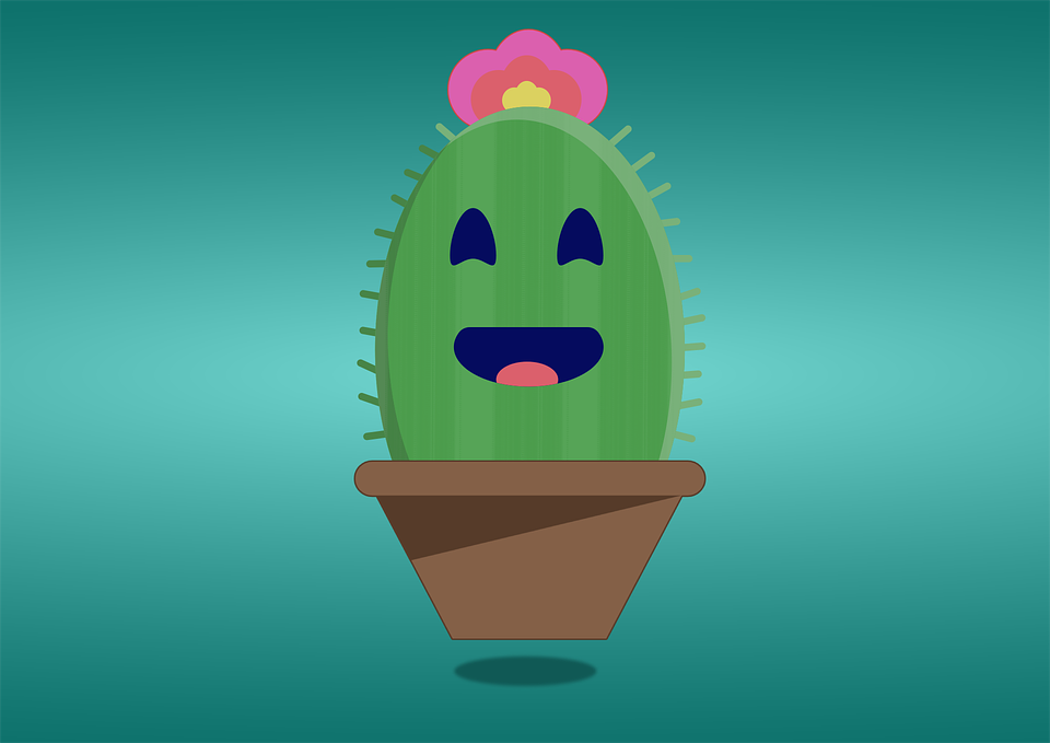Cactus Cartoon Illustration - Free vector graphic on Pixabay