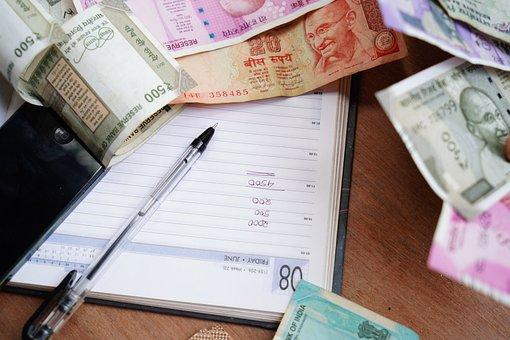 インド, ルピー, 職業, インドの通貨, 与え, 文字-文書, 契約