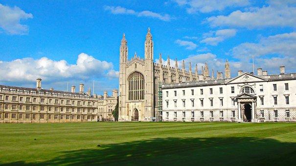 Kings College, Cambridge, Uk, University