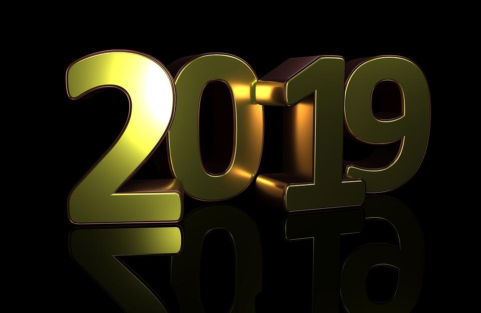 Nytt år Gott 2019 Gratis Bilder På Pixabay
