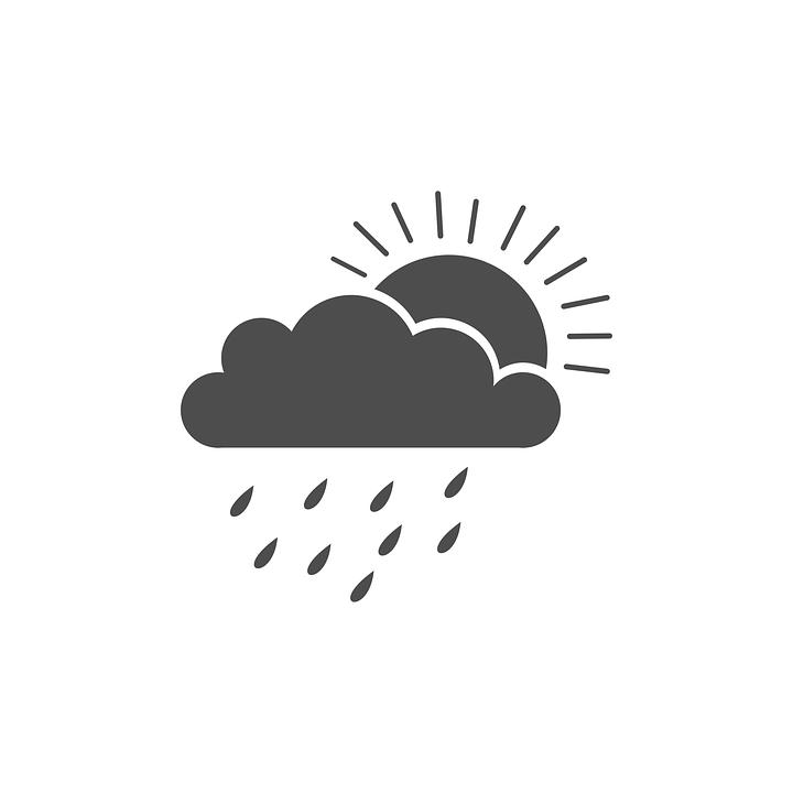 Hava Bulut Gunesli Pixabay Da Ucretsiz Vektor Grafik
