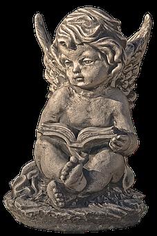 Figure, Angel, Cherub, Wing, Female