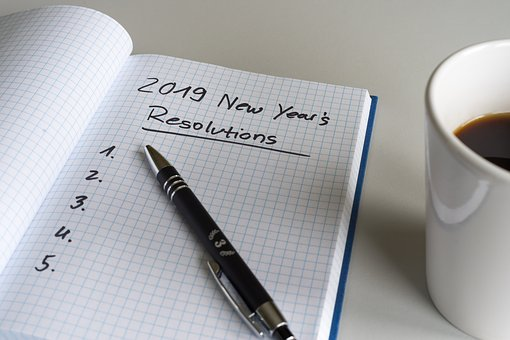 Resolutions, 2019, New Year'S Day, List