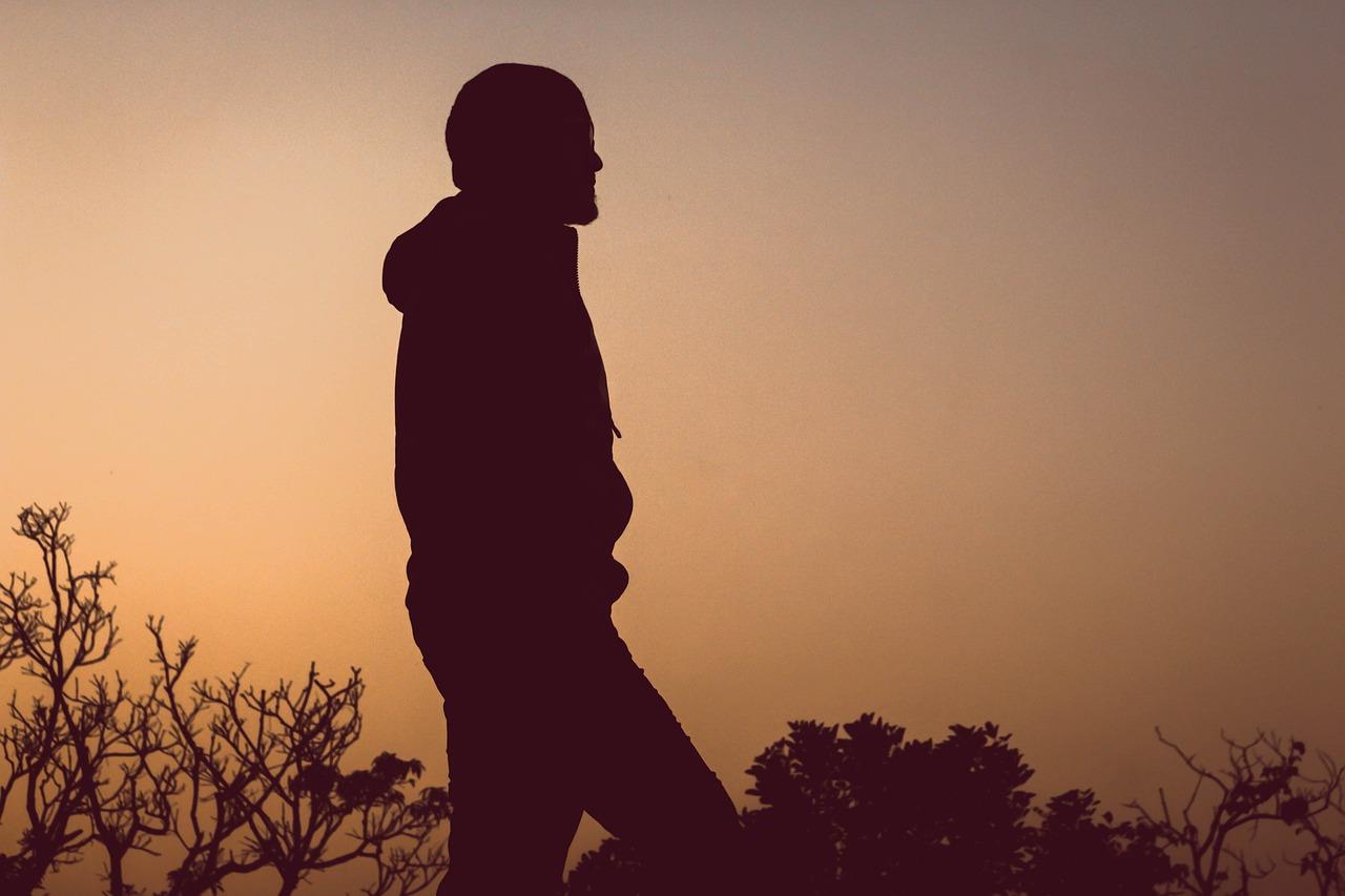 Man sad alone Alone sad