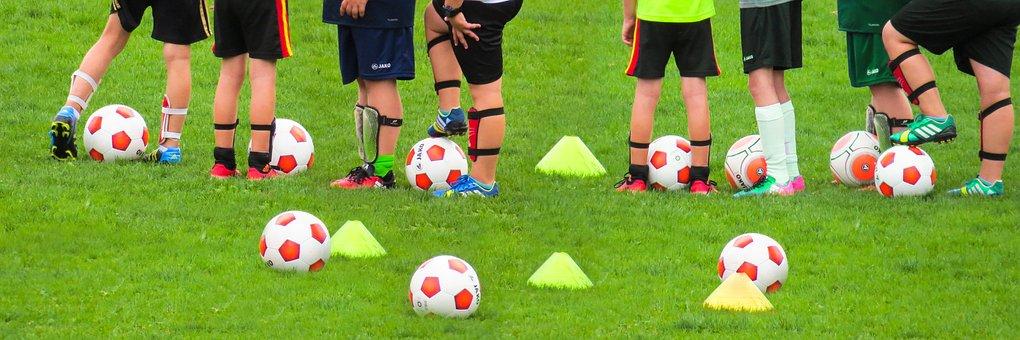 Desporto, Lazer, Futebol, Formação, Bola