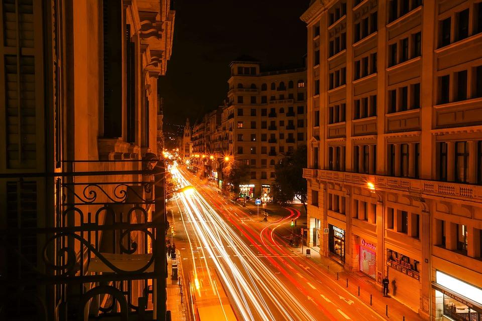Cidade A Noite Edificios Foto Gratuita No Pixabay