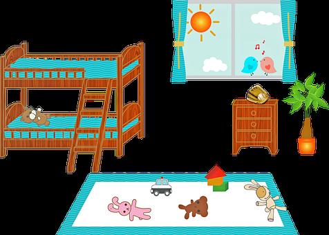Детска Стая, Двуетажно Легло, Прозорец