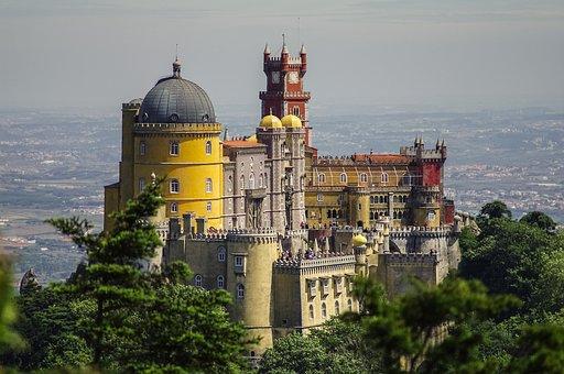 Portugal, Castle, Foam, Sintra, Lisbon